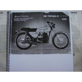 Manual Metralla GTS