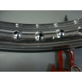 """Llanta aluminio 19"""" doble nervio"""