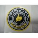 Logo Bultaco en vinilo para lacar