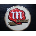 Placa metalica Montesa logo antiguo