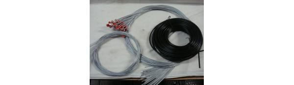 Gomas, juntas, cables