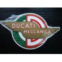 Placa metalica garaje Ducati