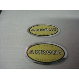Logos llanta Akront 2 unidades
